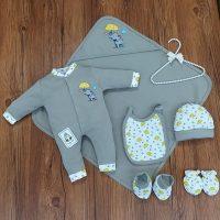 خريد ست بیمارستانی نوزادی طرح فیل در فروشگاه اينترنتي پوشاکچي - مشاهده قيمت و مشخصات
