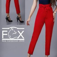 شلوار پارچه ای مازراتی زنانه مام استایل - کد F123فروشگاه آنلاین فاکس