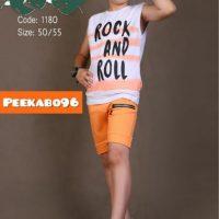 خرید تی شرت شلوارک کد 18690 در فروشگاه پوشاک پوشاکچی-مشاهده قیمت و مشخصات