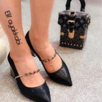 خرید کفش پاشنه بلند زنانه کد 18709 در فروشگاه اینترنتی پوشاکچی- مشاهده قیمت ومشخصات