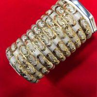 خرید النگوی نقره روکش طلا عیار ۹۲۵ در فروشگاه اینترنتی پوشاکچی-مشاهده قیمت و مشخصات