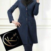 خرید مانتو شلوار زنانه اداری کد 20263 در فروشگاه اینترنتی پوشاکچی-مشاهده قیمت و مشخصات