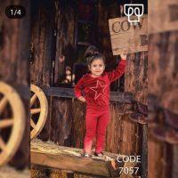 خرید ست بلوز شلوار دخترانه کد 7057 در فروشگاه اینترنتی پوشاکچی-مشاهده قیمت و مشخصات