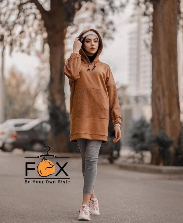 خرید هودی بلند زنانه کد 407 در فروشگاه اینترنتی پوشاکچی-مشاهده قیمت و مشخصات