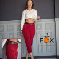 خرید شلوار زنانه مدل مام استایل جیب پیلی دار در فروشگاه اینترنتی پوشاکچی-مشاهده قیمت و مشخصات