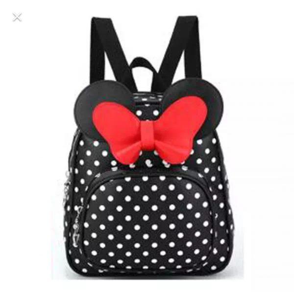 خرید کوله پشتی پاپیون خال خال بزرگ دخترانه در فروشگاه اینترنتی پوشاکچی-مشاهده قیمت و مشخصات