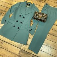 خرید کت و شلوار زنانه 6 دکمه در فروشگاه اینترنتی پوشاکچی-مشاهده قیمت و مشخصات