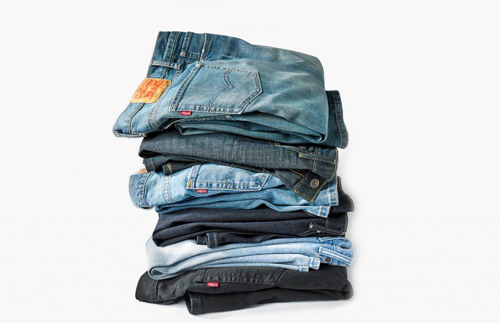 انواع مدل های شلوار جین مردانه