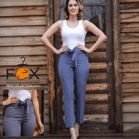 خرید شلوار زنانه مدل کمر گن دار در فروشگاه اینترنتی پوشاکچی-مشاهده قیمت و مشخصات