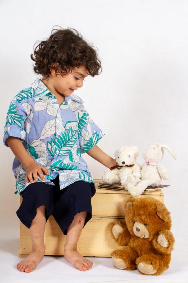 خرید پیراهن و شلوارک پسرانه کد 201 در فروشگاه اینترنتی پوشاکچی-مشاهده قیمت و مشخصات