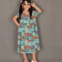 خرید عمده و تکی پیراهن دخترانه کد 202 در فروشگاه اینترنتی پوشاکچی-مشاهده قیمت و مشخصات